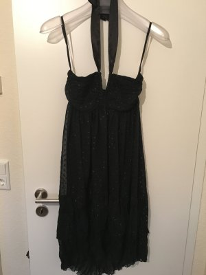 Kleid H&M Schwarz Midi