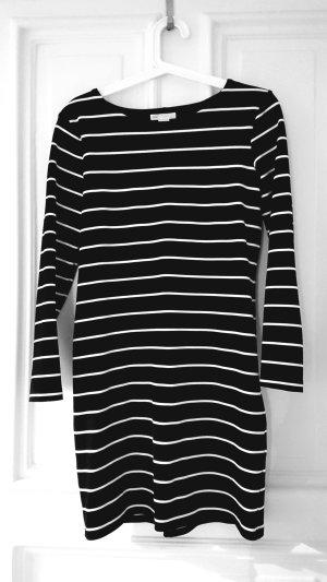Kleid H&M schwarz weiß gestreift Größe S