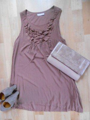 Kleid Hängerchen Selected Femme Gr. S braun