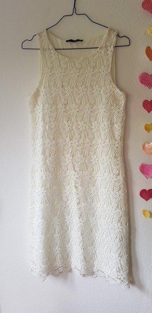 Hallhuber essentials Lace Dress natural white