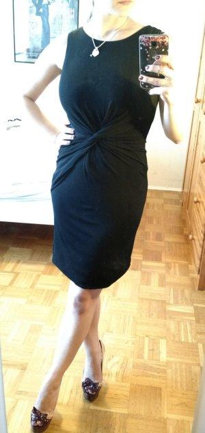 Kleid Halston Heritage Gr. 34 36 XS S schwarz Etui elegant lady designer luxus