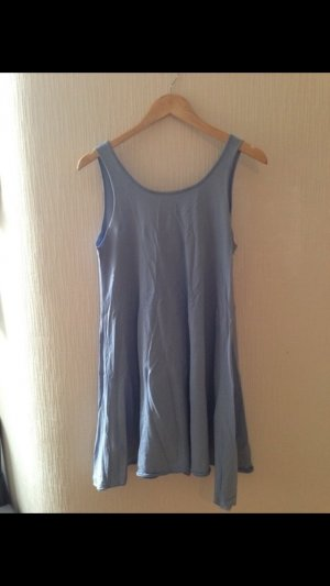 Kleid hellblau A-Linie
