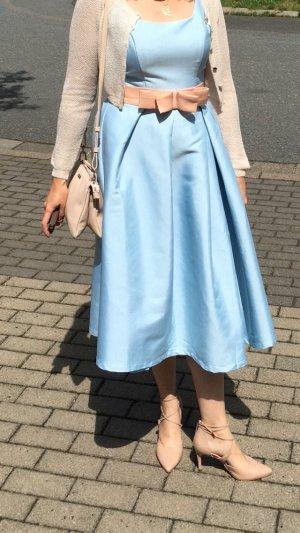 Chi Chi London Midi Dress dusky pink-azure