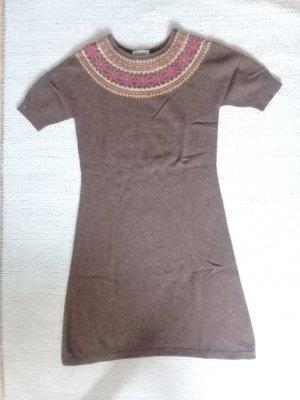 hessnatur Vestido de lana multicolor lana de esquila