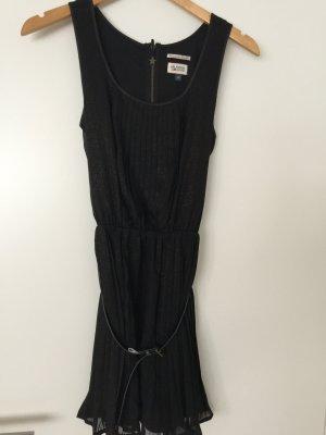 Kleid Hilfiger Denim XS schwarz/gold mit Gürtel