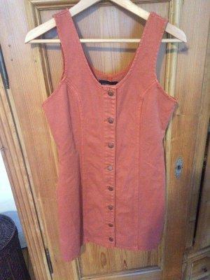 Minkpink Robe en jean abricot-rose chair