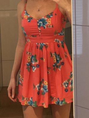 Kleid, Hollister, korall