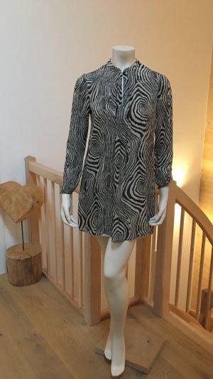 Kleid HOSS Intropia in schwarz—creme Größe 38