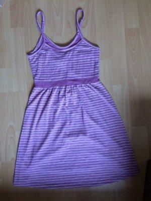 Kleid, Hurley,lila-gestreift, Gr. XS