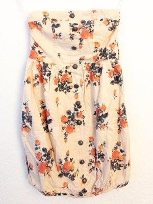 Vero Moda Bandeau Dress multicolored cotton