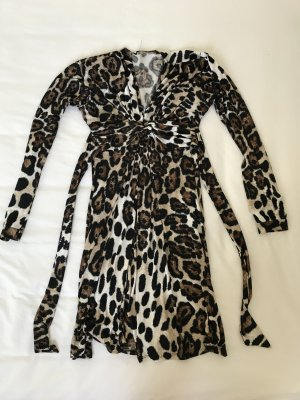 Kleid im Animal Print Größe XS