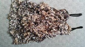 Kleid im Animalprint Größe 38 NEU