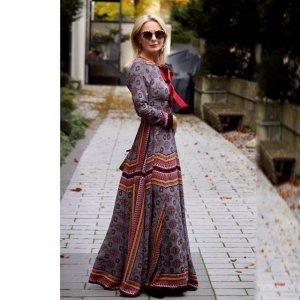 Kleid im Boho Chic Style