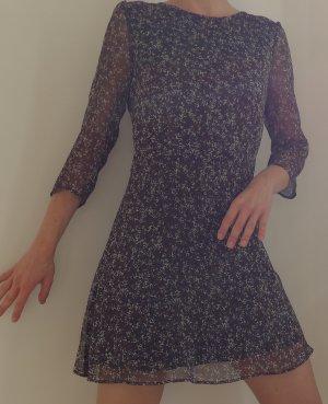 Kleid im Boho-Stil von Mango, Seide, M