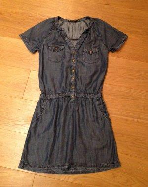 Kleid im Denimlook von Zara