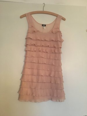 Kleid im #gatsby Style, altrosa, H&M, XS