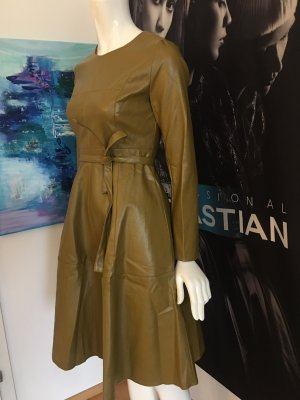 Kleid im Hoschek Stil Leder Optik gefüttert S Kauf 2018 Italien