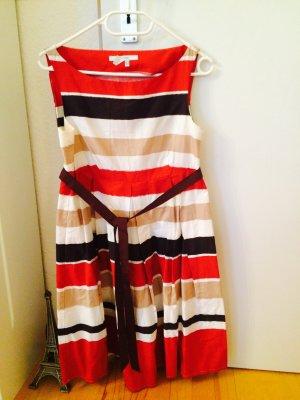Kleid im Look von Prada mit Gürtel/Schleife NEU