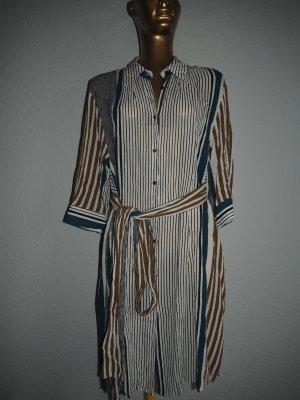 Zara Basic Abito blusa camicia multicolore Tessuto misto