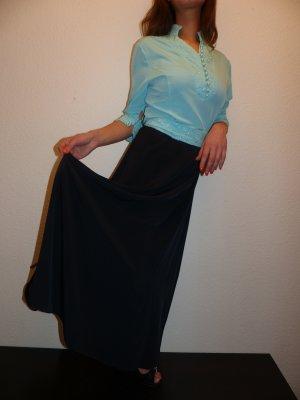 Evening Dress neon blue-black