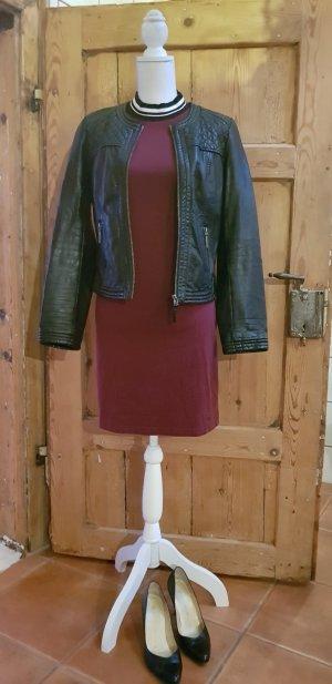 Kleid in Bordeaux von AjC Fashion