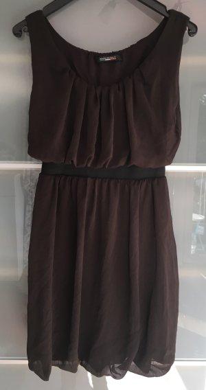 Kleid in braun Gr. 36