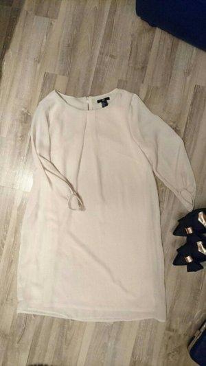 Kleid in Creme-Farbe von H&M in 38