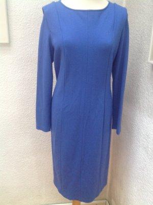 Armani Collezioni Robe en jersey bleu fluo tissu mixte