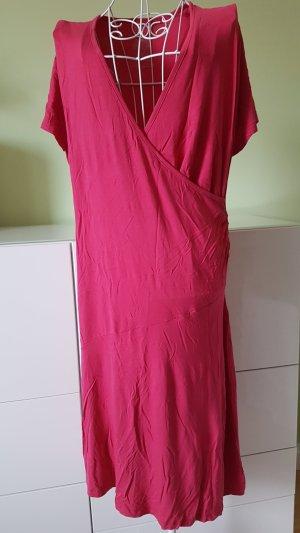 Jersey Dress magenta-raspberry-red