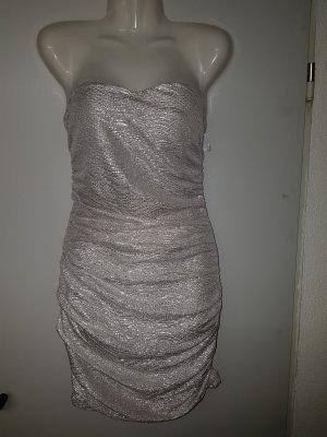 Kleid in gold/silber Minikleid neu mit Etikett Neupreis 29 Euro