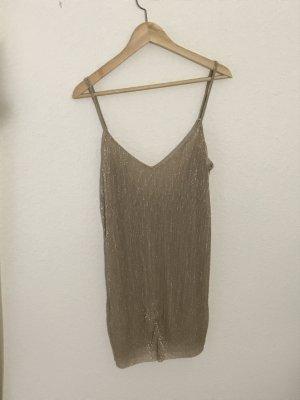 Kleid in Gold von Pull&Bear