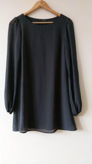 Kleid in grau/ anthrazit Gr. 34