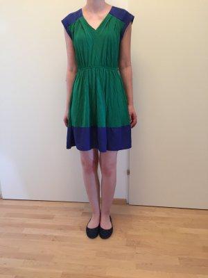 Kleid in grün und blau von S.Oliver