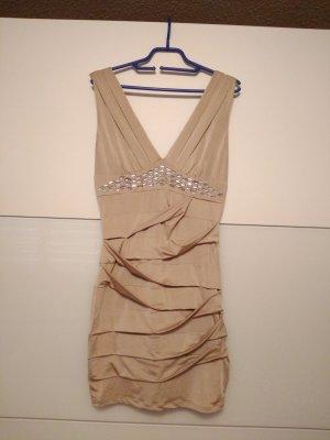 Kleid in hautfarben, Größe S