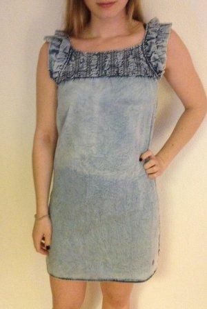 Kleid in Jeansoptik von Tom Tailor, Größe XS.