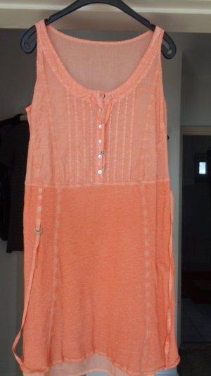 Kleid in Lachs gr.42/44-Endpreis