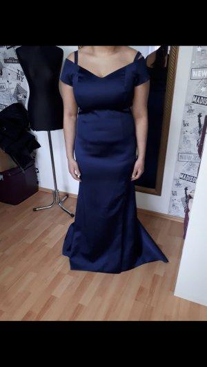 Kleid in Navi
