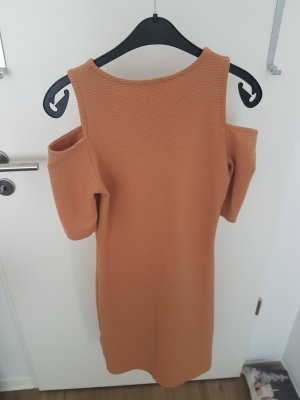 H&M Cut out jurk nude