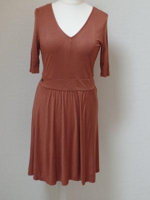 Kleid in rostrot + Esprit EDC + Gr. XL