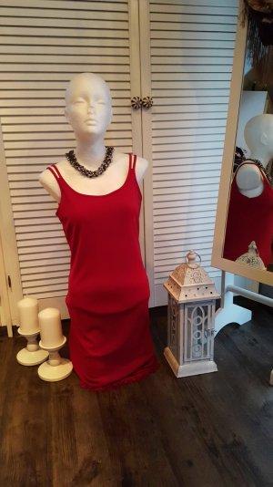 Kleid in Rot mit Fransen 38/40