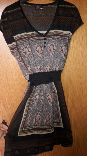 Kleid in S / M 36 38 bunt wie Yumi aus Wolle