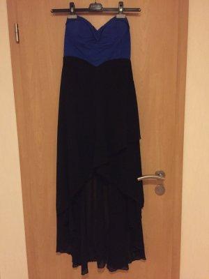 Kleid in schwarz / blau