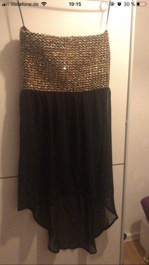 Kleid in schwarz Gold zu verkaufen