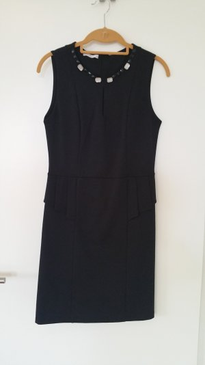 Promod Peplum jurk zwart