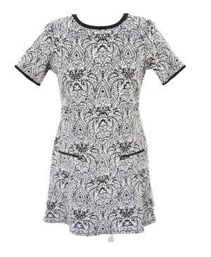 Kleid in Schwarz-Weiß von Dorothy Perkins
