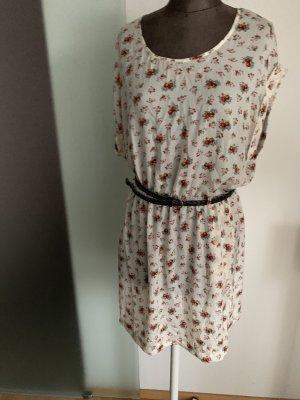 Kleid in Seiden Look Gr 40 L von MNG Mango