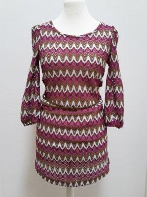 Kleid in Struktur Strick von edc