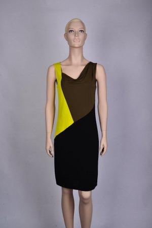 Kleid in Tricolor