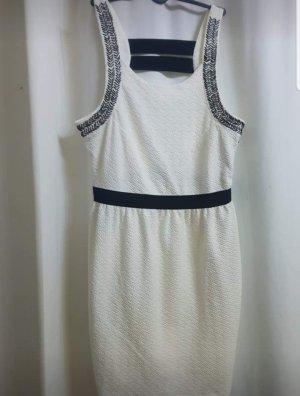 Kleid in Weiss.