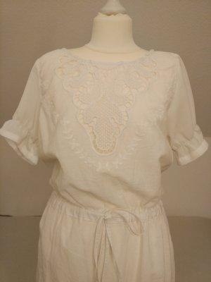 Kleid in weiß mit Spitze von ICHI Gr. XS NEU und ungetragen!